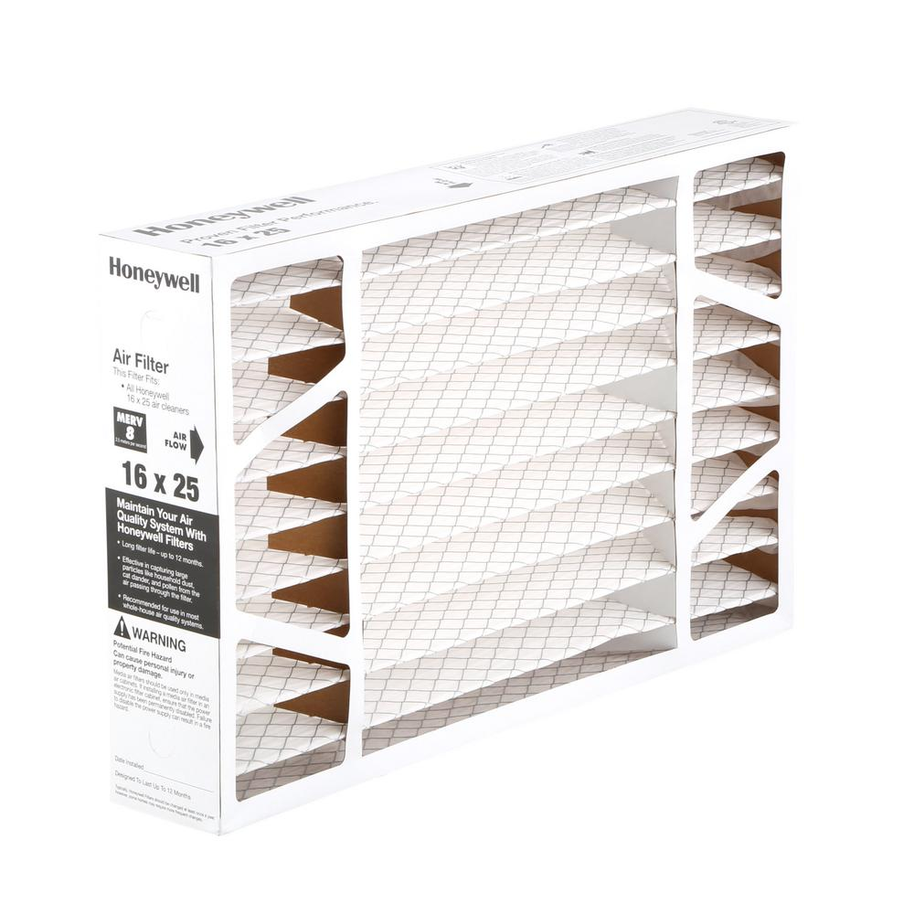 6 pk Replacement Air Filter F// Honeywell FC100A1029 AC 16 x 25 x 4 MERV 11