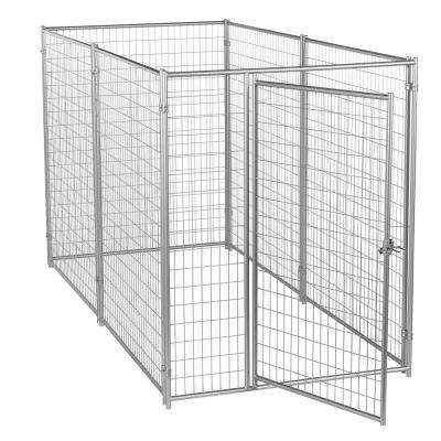 6 ft. H x 5 ft. W x 10 ft. L Modular Welded Wire Kennel Kit
