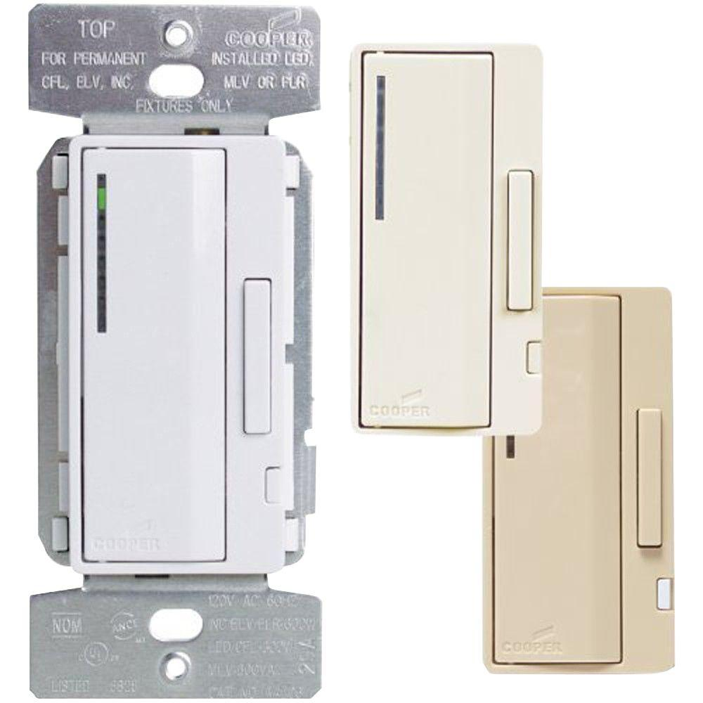 Accell AL Series Smart Dimmer Color Change Faceplate Kit, Light