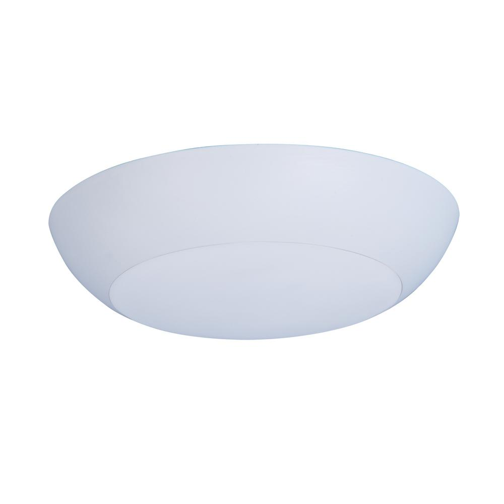 Maxim Lighting Diverse 1-Light LED White Flush Mount