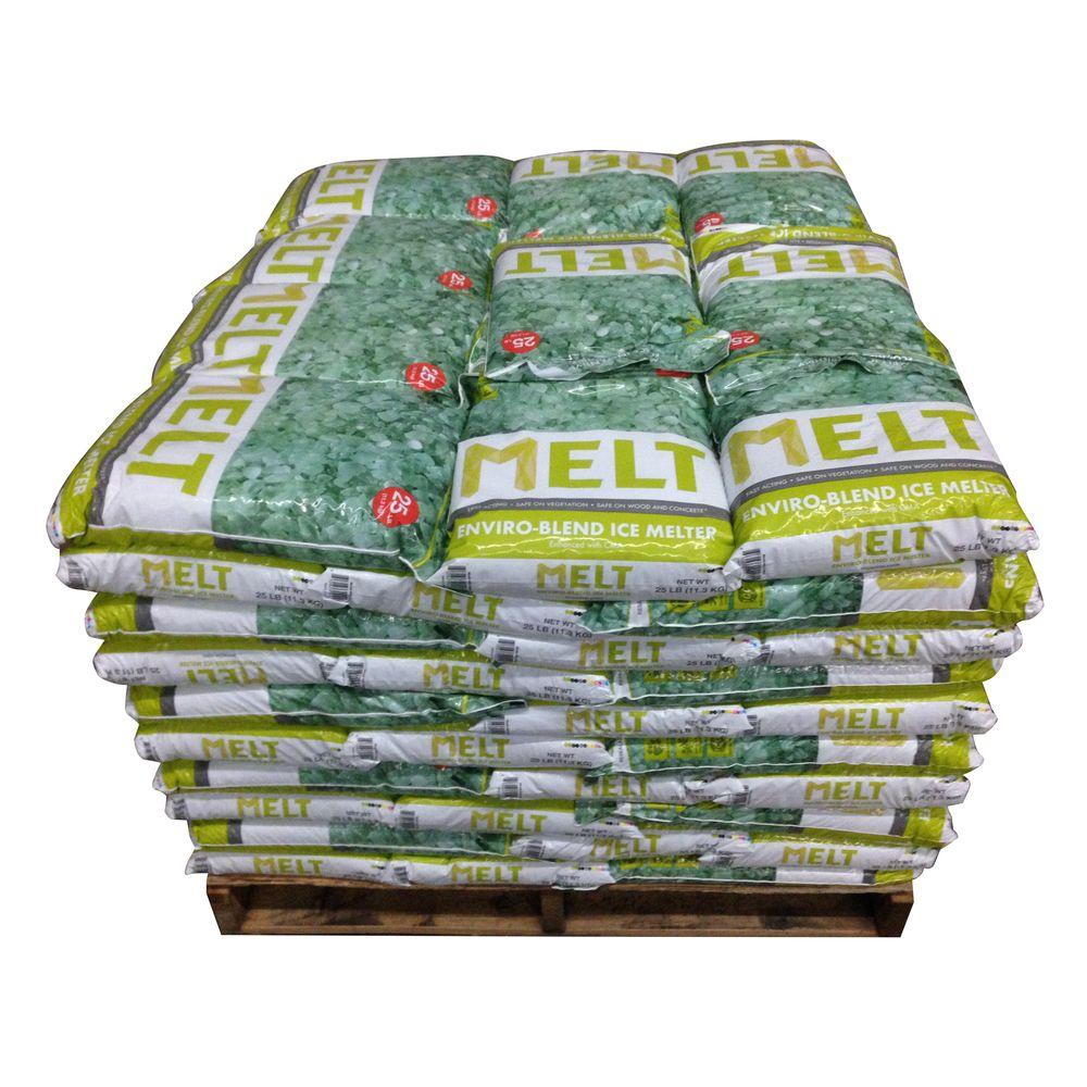 Snow Joe Melt 25 lb. Premium Environmentally Friendly Blend Ice Melter with CMA (Pallet of 100)