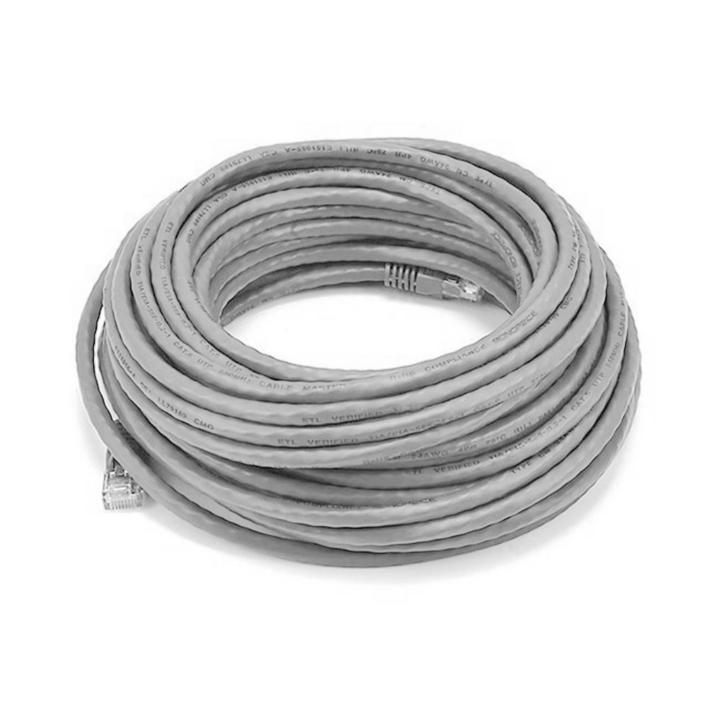 Q-SEE 100 ft. Video and Power BNC Male Cable with 2 Female Connector ...