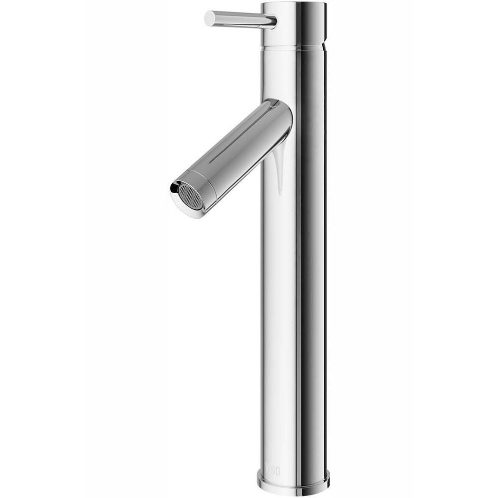 VIGO Single Hole Single-Handle Vessel Bathroom Faucet in Chrome