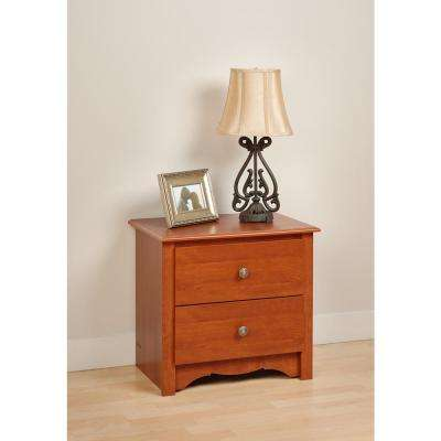 monterey 2drawer cherry nightstand
