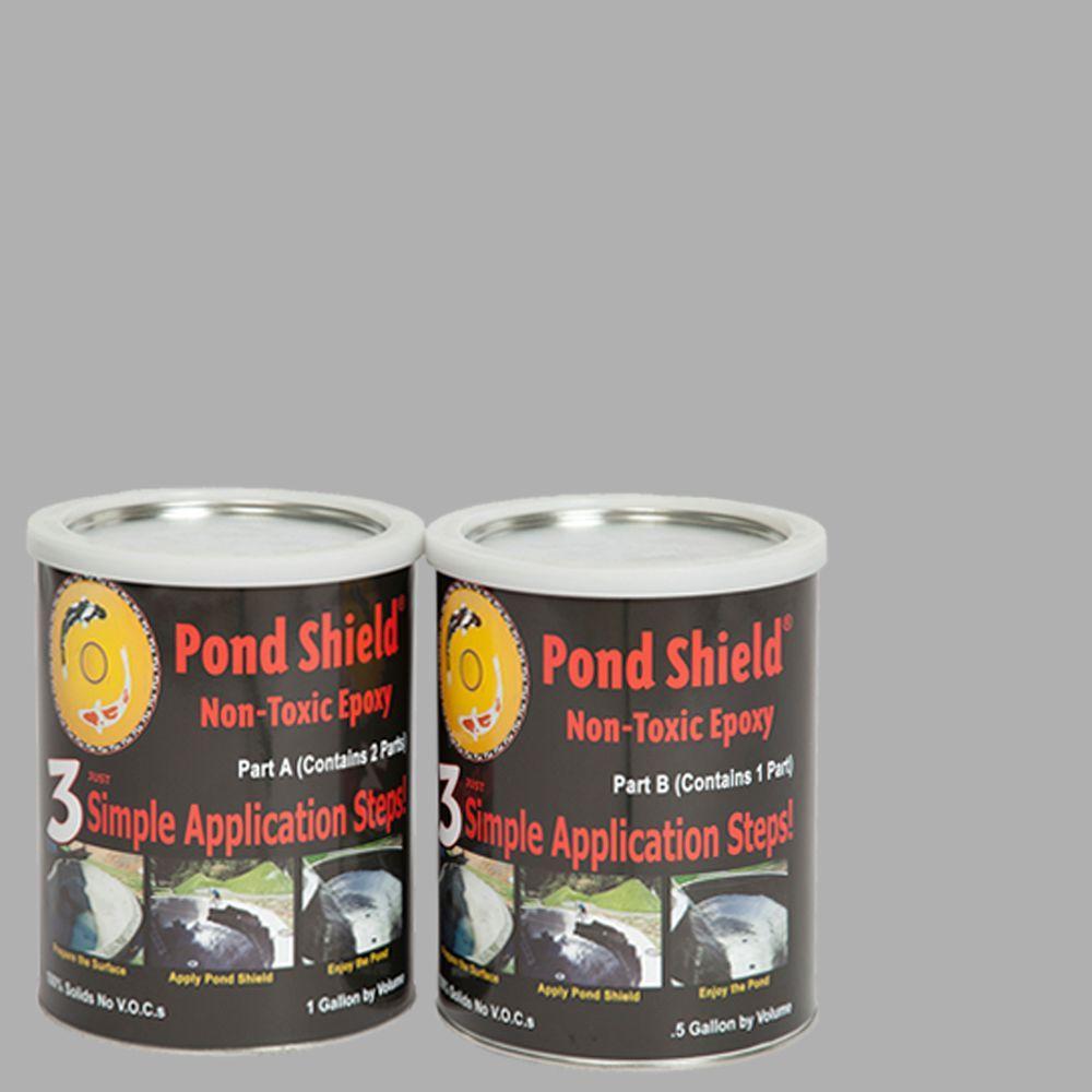 Pond Shield 1.5-gal. Gray Non Toxic Epoxy
