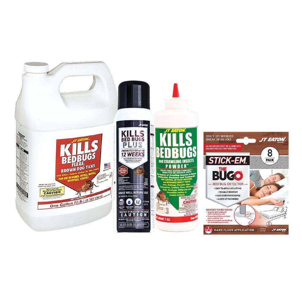 1 Gal. Bedbug Solution Value Kit with Oil Base