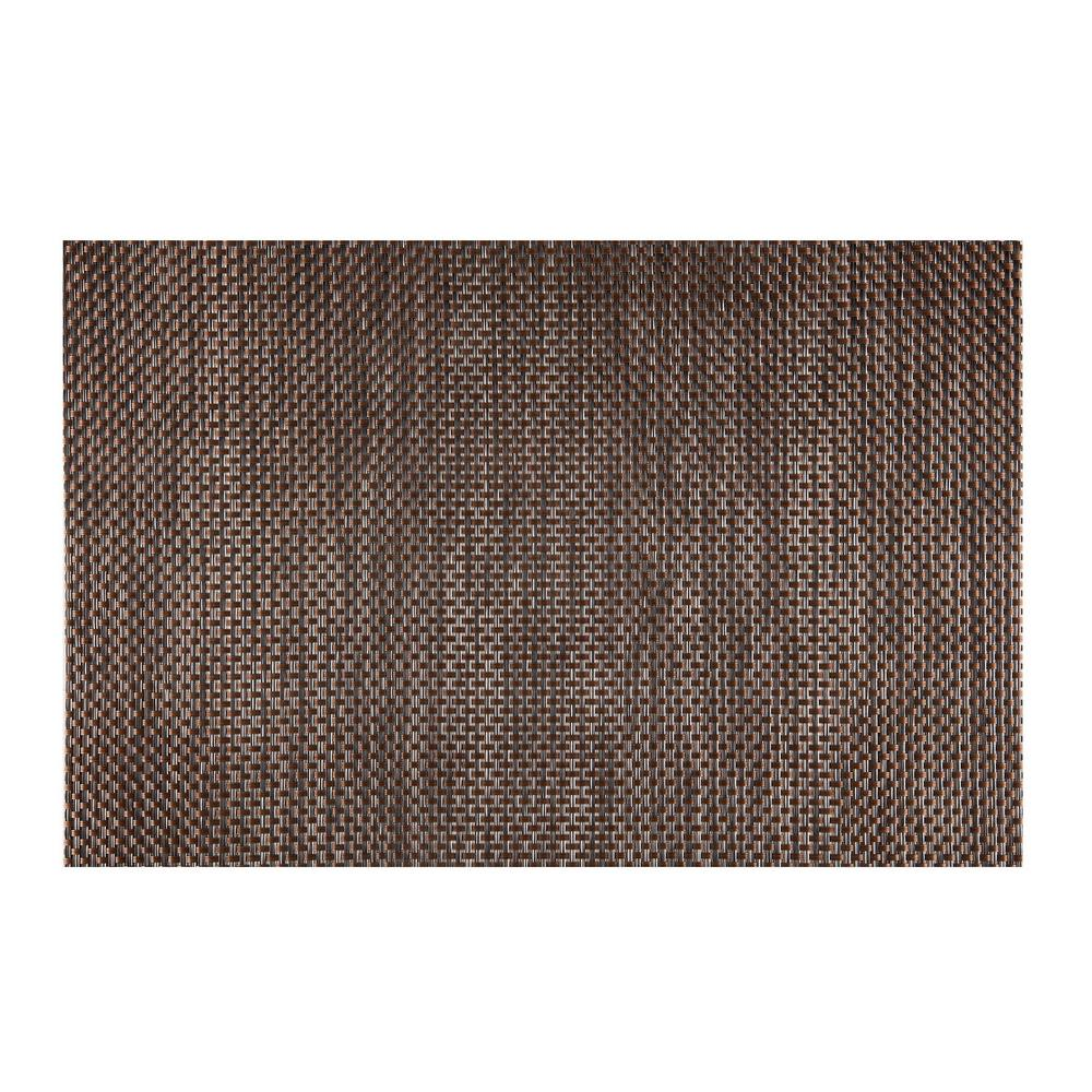 kraftware everytable brown black and ash brown placemat set of 12