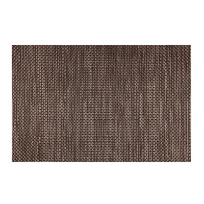 EveryTable Brown, Black and Ash Brown Placemat (Set of 12)