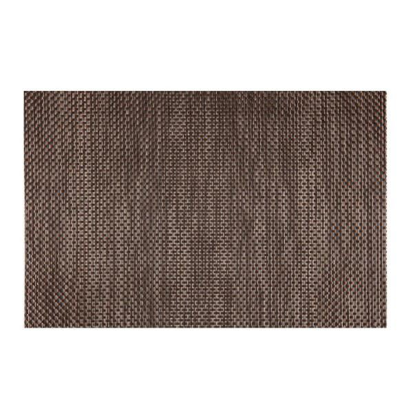 Kraftware EveryTable Brown, Black and Ash Brown Placemat (Set of 12)