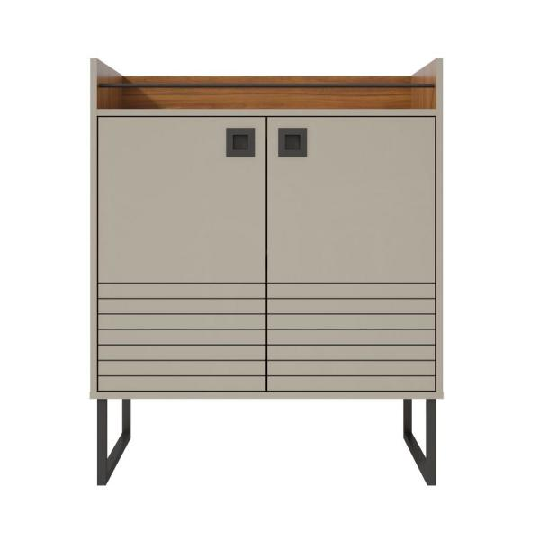 Luxor Milford 3149 In Off White And Wood Modern Buffet Stand With