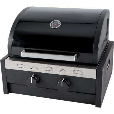 Tailgater Chef 2-Burner Portable Propane Gas Grill