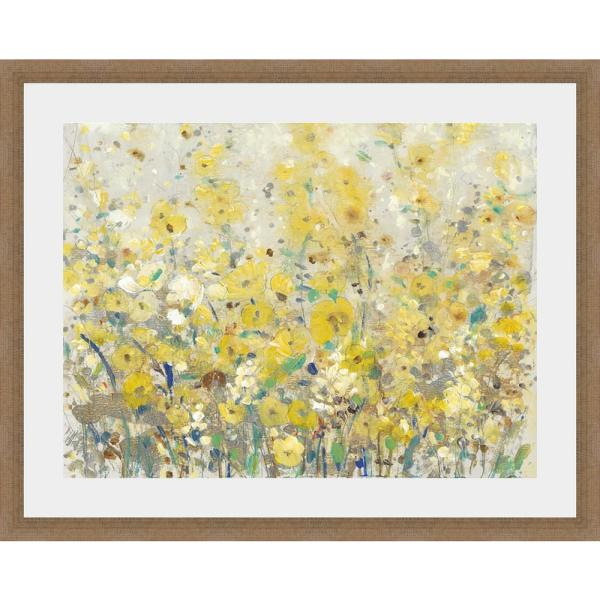 25.5 in. x 31.5 in. 'CHEERFUL GARDEN I' by Tim O'Toole