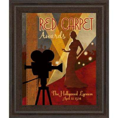 """22 in. x 26 in. """"Red Carpet Awards"""" by Conrad Knutsen Framed Printed Wall Art"""