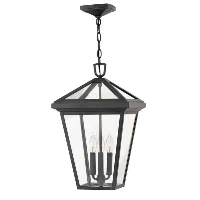 Alford Place Large Museum Black Outdoor Hanging Lantern
