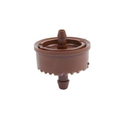 0.6 GPH Self Flushing Pressure Compensating Dripper with Check Valve