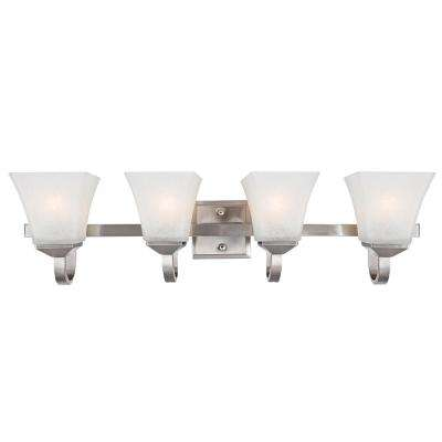 Torino 4-Light Satin Nickel Vanity Light