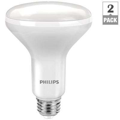 65W Equivalent Soft White BR30 LED Light Bulb (2-Pack)