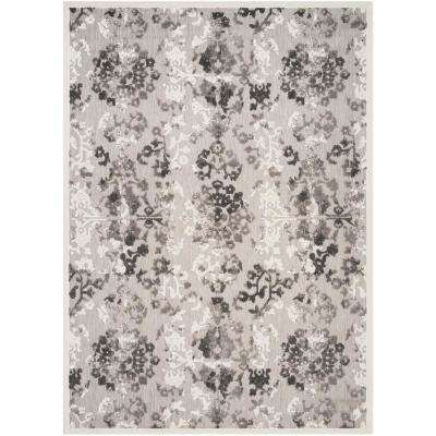 Cottage Gray/Dark Gray 8 ft. x 11 ft. Indoor/Outdoor Area Rug