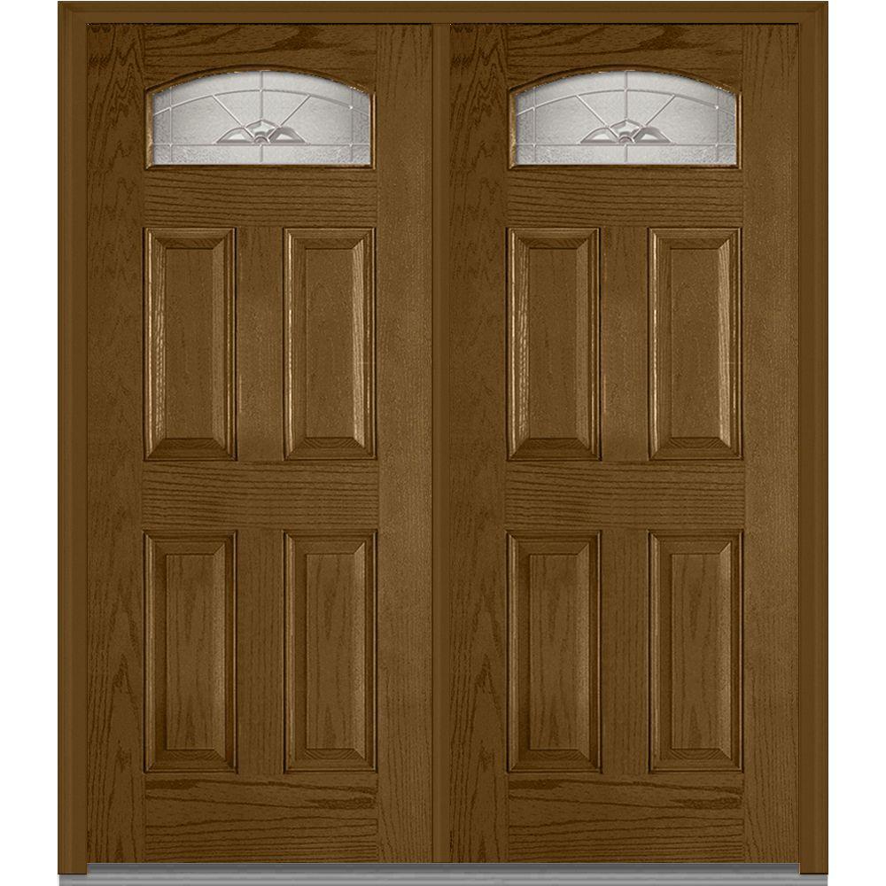 Mmi door 72 in x 80 in master nouveau left hand 1 4 lite for 72 x 80 exterior door
