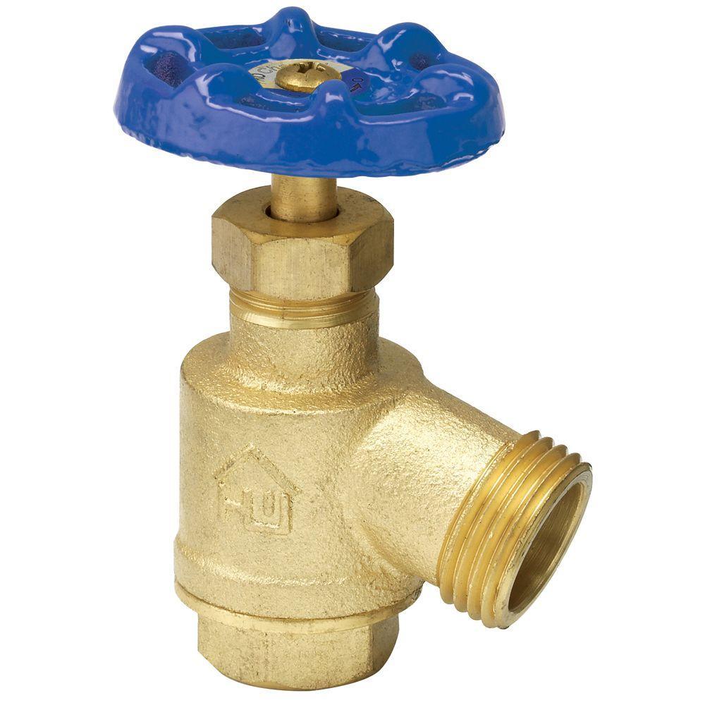 homewerks worldwide 3 4 in brass fpt x mht bent nose garden hose bibb valve vgrbnob4b the. Black Bedroom Furniture Sets. Home Design Ideas