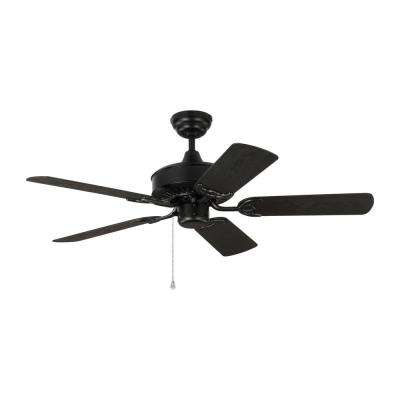 Haven 44 in. Indoor/Outdoor Matte Black Ceiling Fan