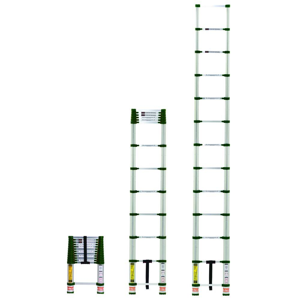 Louisville Ladder 40 Ft Aluminum Extension Ladder With