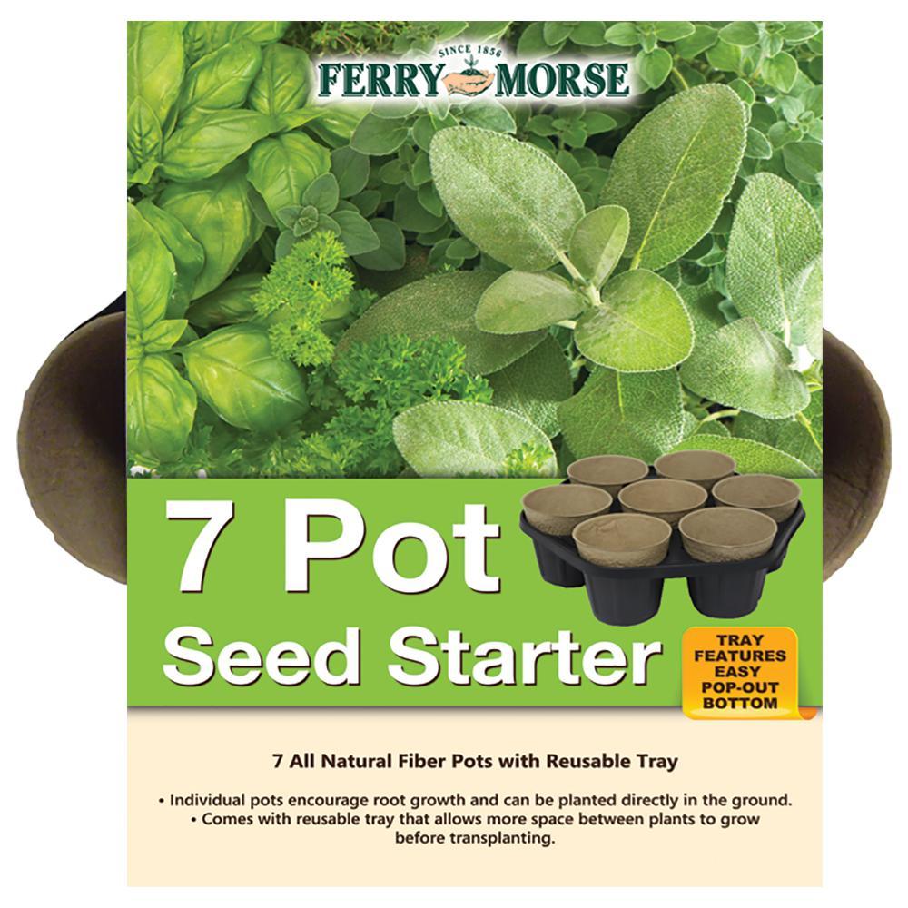 7 Pot Seed Starter Kit