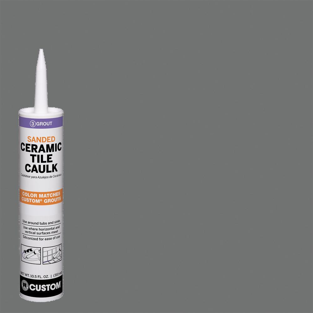 Polyblend #644 10.5 oz. Shadow Sanded Ceramic Tile Caulk
