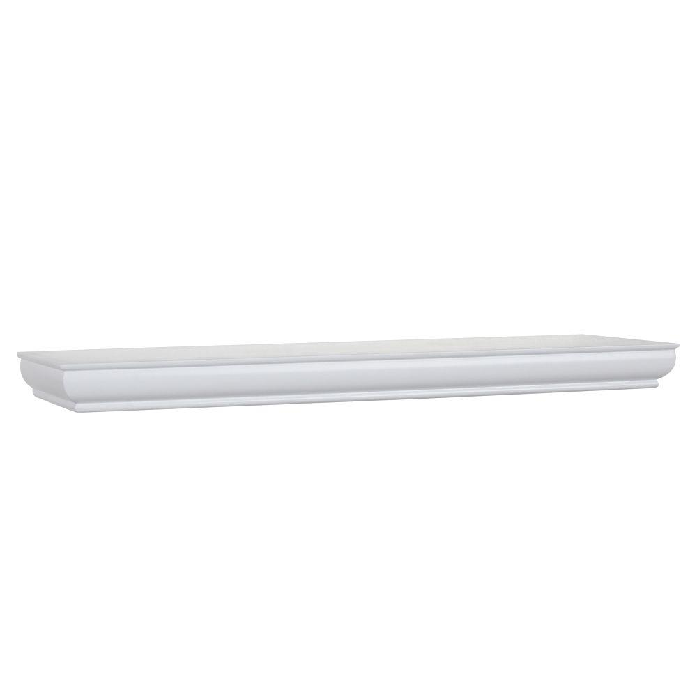 Mural 4 in. x 1-3/4 in. Floating Ledge (Price Varies by Finish/Length)