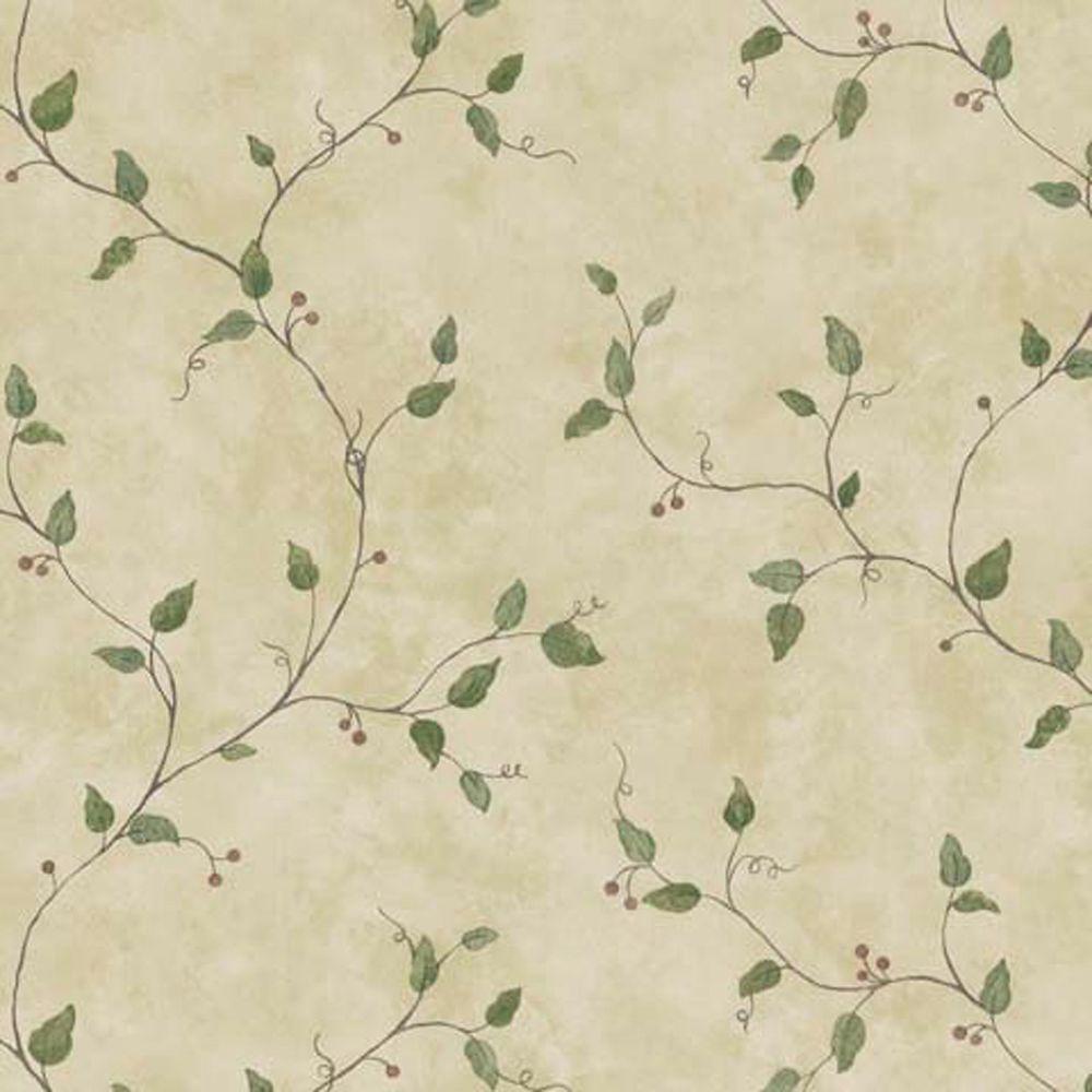 Brewster 56 sq. ft. Berry Trail Wallpaper