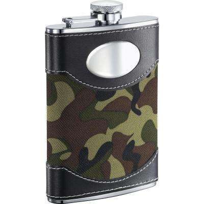 GI Joe Green Camouflage Liquor Flask