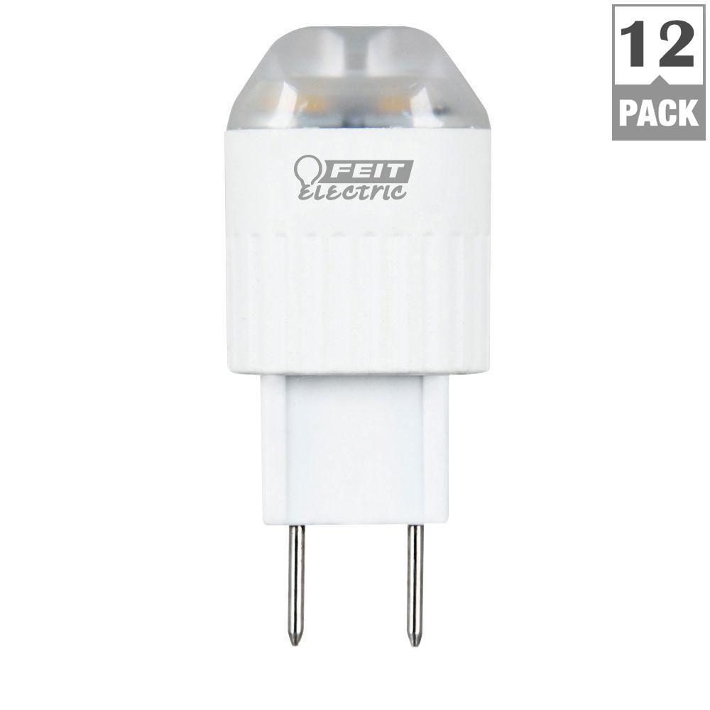 20W Equivalent Warm White (3000K) T5 GY8.6 Bi-Pin LED Light Bulb