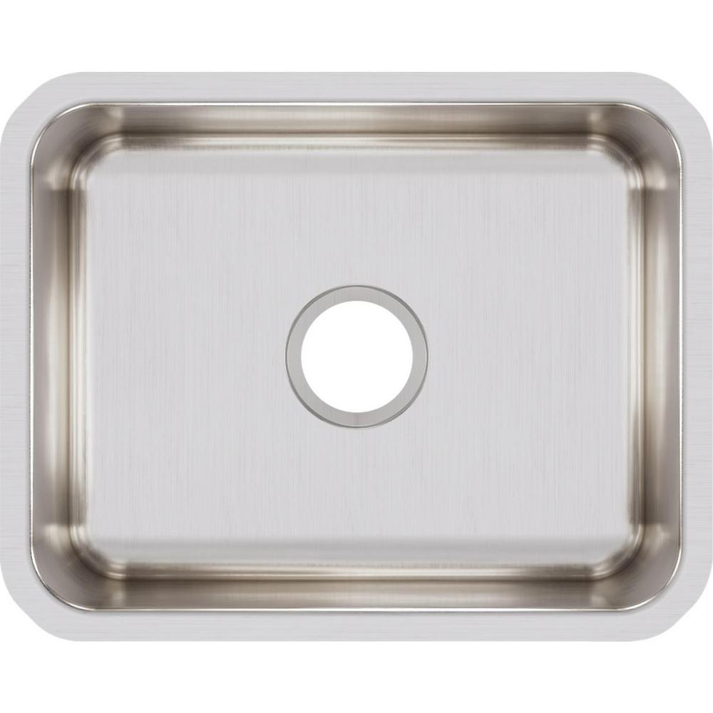 Magnificent Elkay Lustertone Undermount Stainless Steel 21 In Single Bowl Kitchen Sink Home Interior And Landscaping Eliaenasavecom
