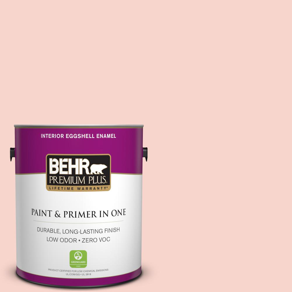 BEHR Premium Plus 1-gal. #P180-1 Deco Shell Eggshell Enamel Interior Paint
