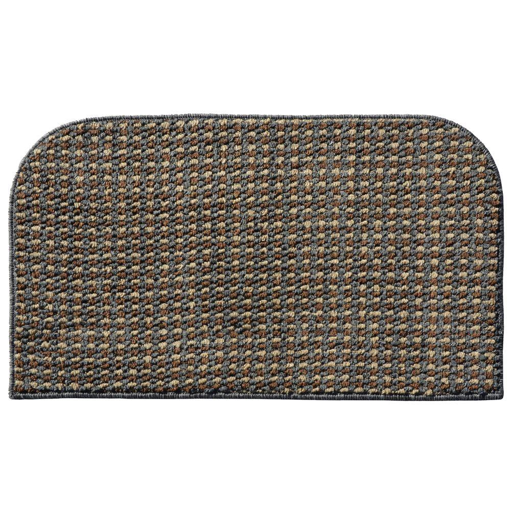 Garland Rug Berber Coloriations Cinder Gray 1 Ft 6 In X 2 Ft 6 In Accent Rug Bc000w01803012