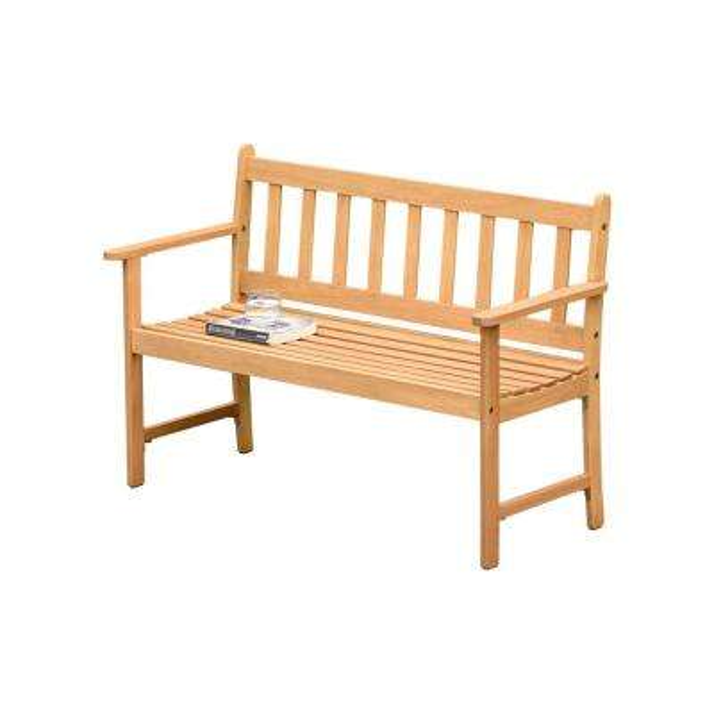 Dunster 46 in. Wood Outdoor Bench