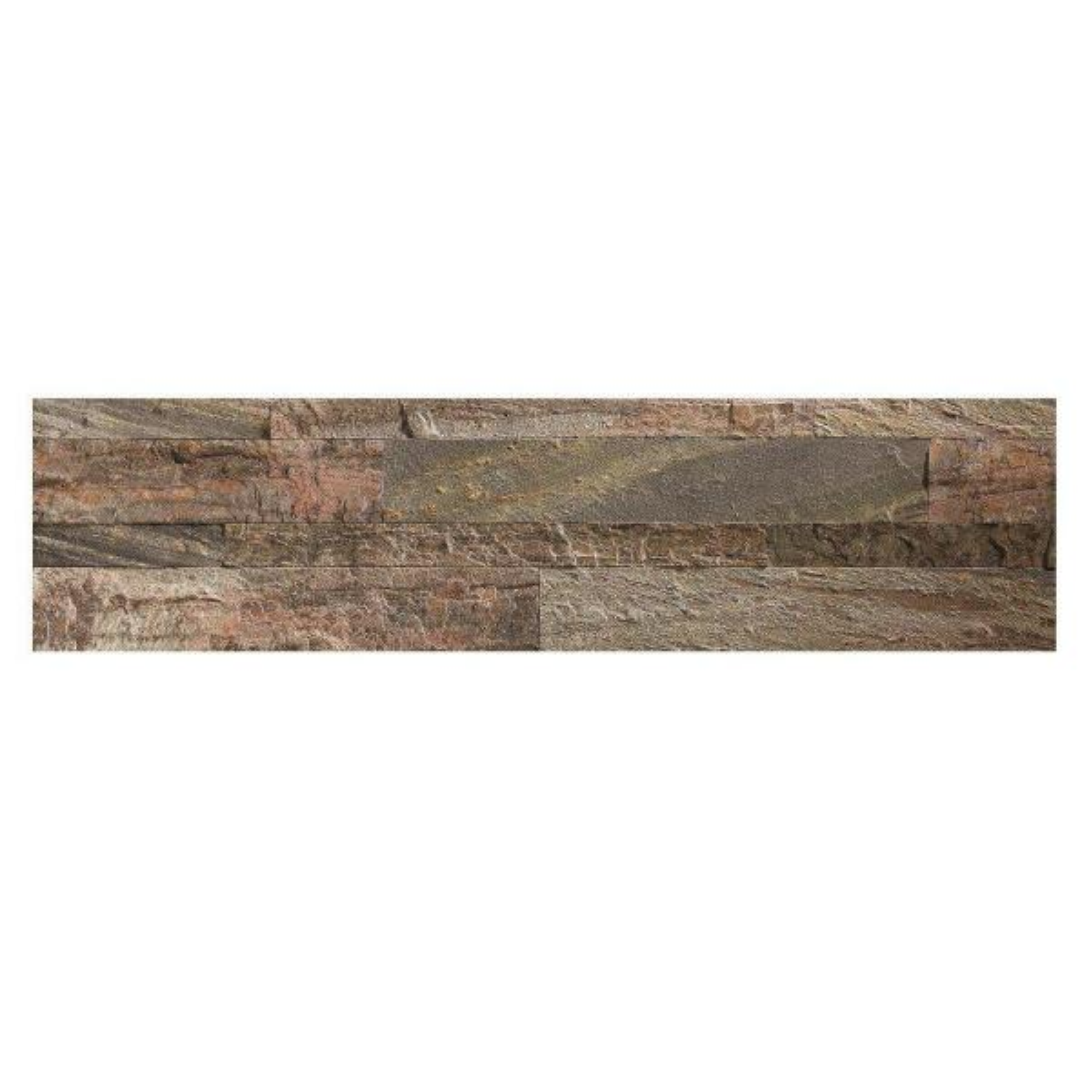 23.6 in. x 5.9 in. Weathered Quartz Peel and Stick Stone Decorative Tile Backsplash