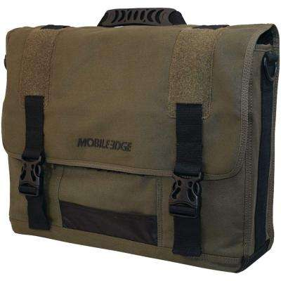 17.3 In. Eco Messenger Bag - Green