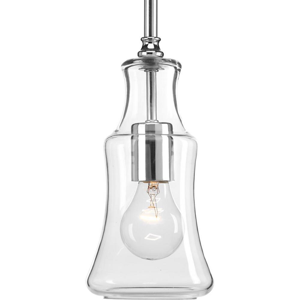Litchfield Collection 1-Light Polished Chrome Pendant