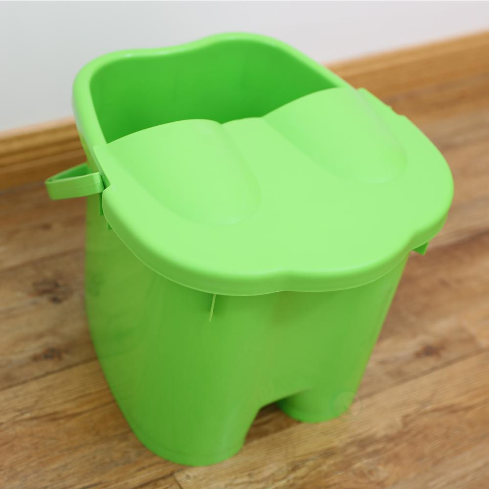 Basicwise Foot Massage Spa Bath Bucket with Cover-QI003324 - The ...