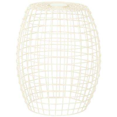 Eric Grid Ivory End Table