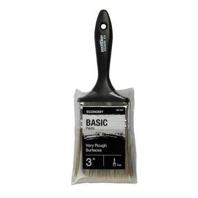 UTILITY 3 in. Flat Cut Utility Paint Brush