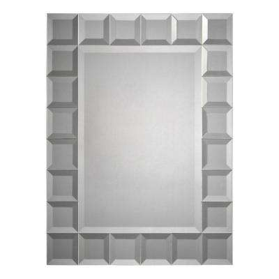 24 in. x 32 in. Beveled Glass Mirror