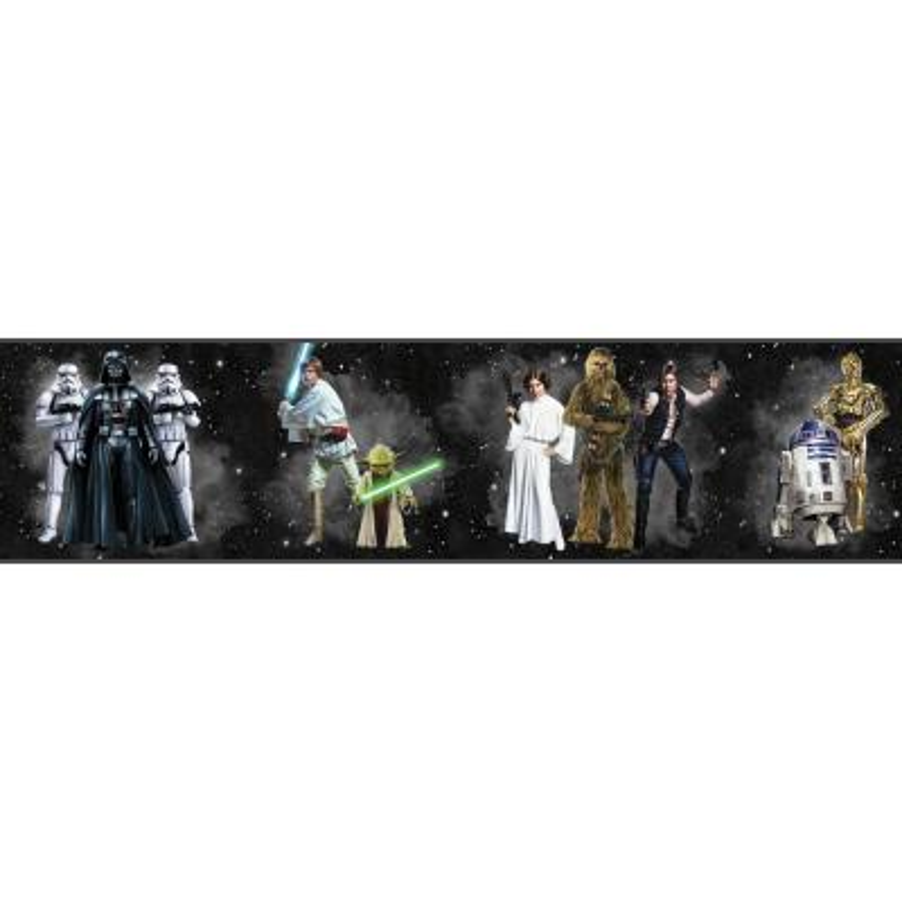 Disney Kids III Star Wars Classic Characters Border