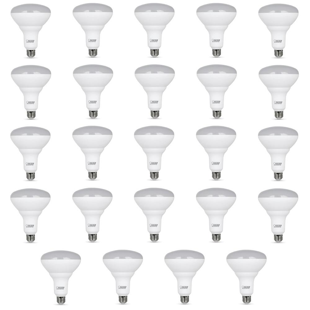 Feit Electric 65 Watt Equivalent 5000k Br40 Dimmable Led