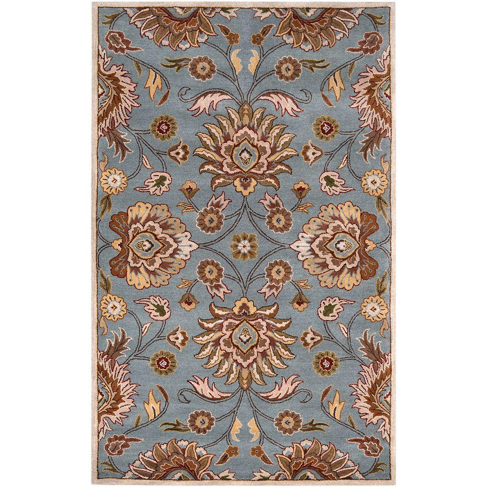 Artes Sky Blue 2 ft. x 3 ft. Area Rug