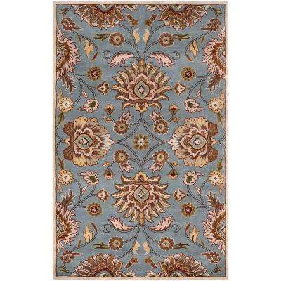 Artes Sky Blue 8 ft. x 11 ft. Area Rug