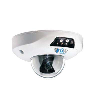 Wired 5 MP 2.8 mm Fixed Lens HD-IP POE Built-In Microphone Surveillance True WDR Camera