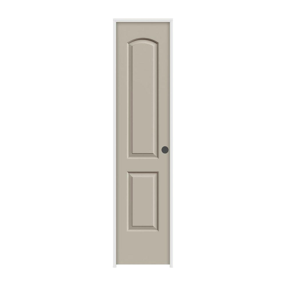 Jeld wen 18 in x 80 in continental desert sand painted for 18x80 interior door