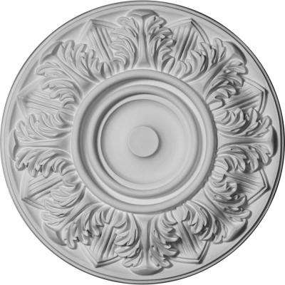 13 in. OD x 1-3/8 in. P For Canopies up to 3-3/4 in.) Whitman Polyurethane Ceiling Medallion